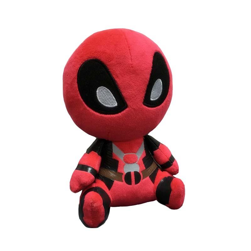 48pcs/lot Marvel Movie Deadpool Plush Kids Toys 20cm Deadpool Soft Stuffed Doll Figures Christmas Gift For Children S50<br><br>Aliexpress