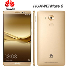 "Original HuaWei Mate 8 4G LTE Smart Phone Kirin 950 Octa Core Android 6.0 6.0"" FHD 1920X1080 4GB RAM 128GB ROM 16.0MP Touch ID(China (Mainland))"