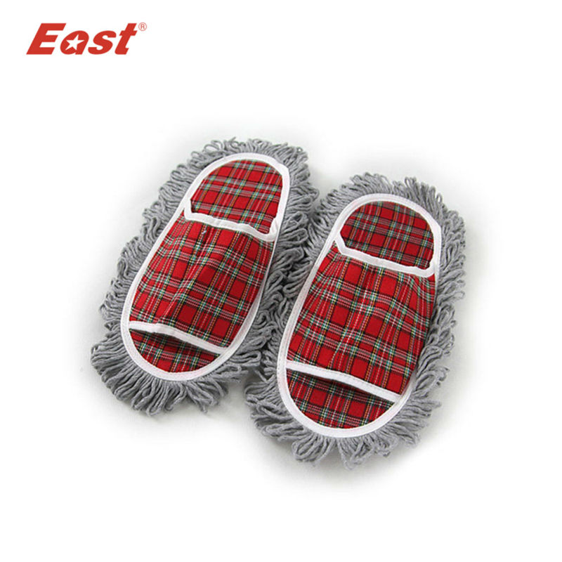 East cleaning spring and autumn lazy woman Home floor cool cotton slipper dust mop house cleaner shoes slipper(China (Mainland))
