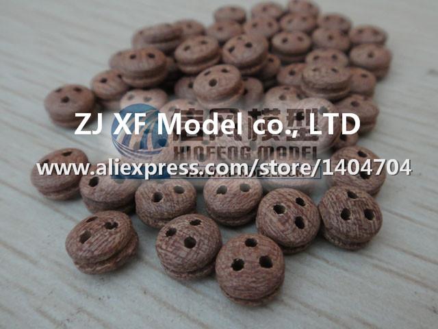 Free shipping Ancient sailing boat model accessories high-grade Deadeye Sapele pulley 10pcs/lot(China (Mainland))