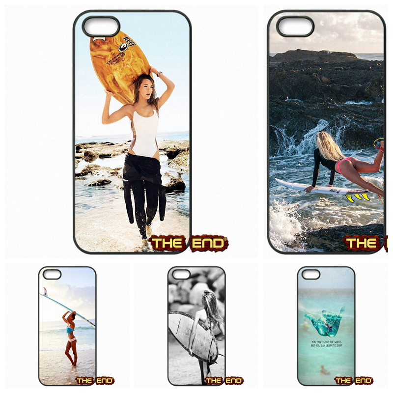 Learn to Surf Love Like Hard Mobile Phone Case Cover Capa For Apple iPhone 4 4S 5 5C SE 6 6S Plus 4.7 5.5 iPod Touch 4 5 6(China (Mainland))