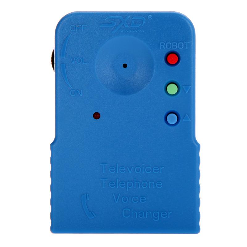 Mini Portable Wireless 8 Multi Voice Changer Blue Phone Microphone Portable Audio & Video(China (Mainland))