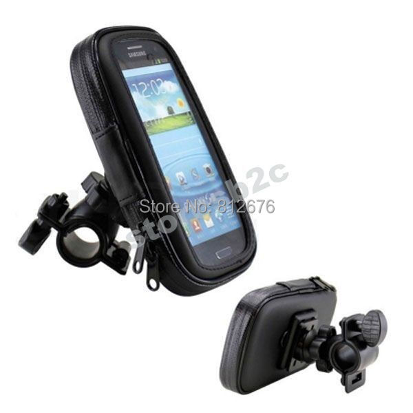Bike Motorcycle Waterproof Handlebar Holder Case For Samsung Galaxy Note 3 N9000 N7100 I9220(China (Mainland))