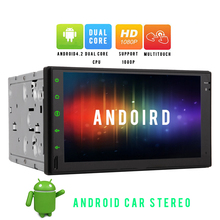 "Universal Double 2 Din Android 4.2 Car Electronics Radio Headunit 7"" Touch Screen GPS Navigation Stereo NO-DVD Player Bluetooth"