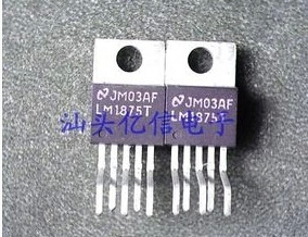 Free shipping 10pcs LM1875T LM1875 1875 IC AUDIO POWER AMPLIFIER 20W TO-220-5 NS(China (Mainland))
