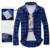 2016 Hot Sale Men's Vintage Plaid Check Long Sleeve Shirt  Slim Fit  Shirts High Quality Camisa Masculina M-XXL 5 Colors I194