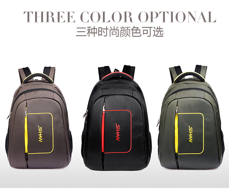 Superior quality 15.6inch 14inch laptop backpack business women and mens bag waterproof unisex canvas travel sprot school bag(China (Mainland))
