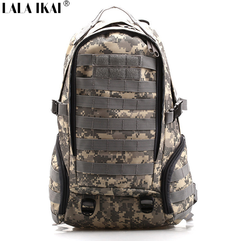OUT348-5 Men Travel Bags Free Shipping Tactical Military Backpack Molle Camouflage Bag Outdoor Sports Camping Hiking Backpacks(China (Mainland))