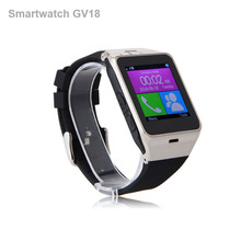 Smart Watch GV18 Arc Clock With Sim Card NFC Bluetooth Connection for iphone Android Phone Smartwatch Beautiful Than U8 DZ09