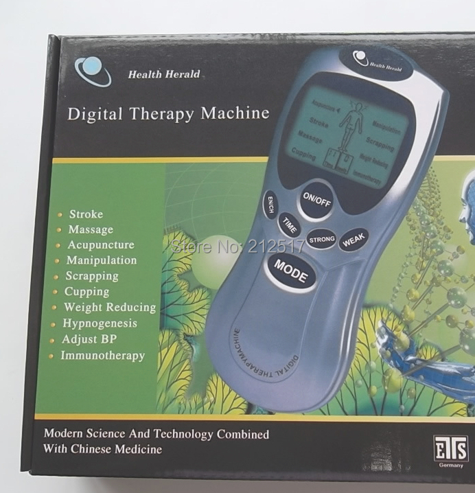 2014 Body care health herald modern science and technology combined with Chinese Medicine digital therapy machine(China (Mainland))