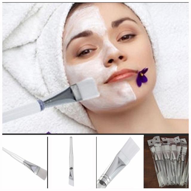 Главная DIY маска Для Лица Глаз Использование Маски Мягкая маска Щеткой Лечение Косметическая Макияж Инструмент