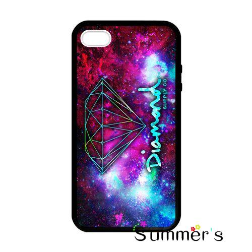 New Diamond Supply Co Purple cellphone case cover for iphone 4s 5s 5c 6s plus Samsung Galaxy S3/4/5/6/7edge+ Note2/3/4/5(China (Mainland))