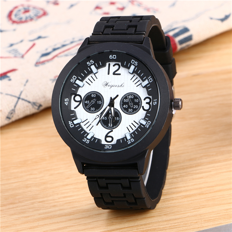 Men big dial digital quartz watch silicone strap cool watch students leisure watches the new trend of fashion watches gifts sell<br><br>Aliexpress