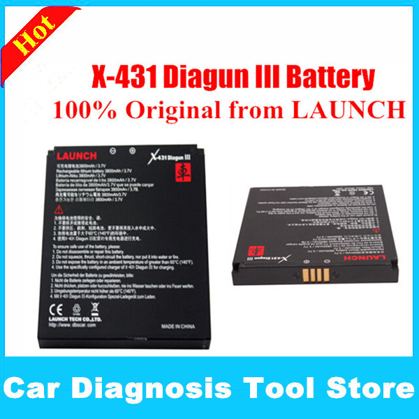 2015 New Arrival Top Quality Original Launch X431 Diagun III Battery ( Diagun 3) with Free shipping(China (Mainland))