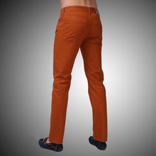Men Jeans Straight Casual Jeans Fashion Design Men Pants White Blue Red L9761(China (Mainland))