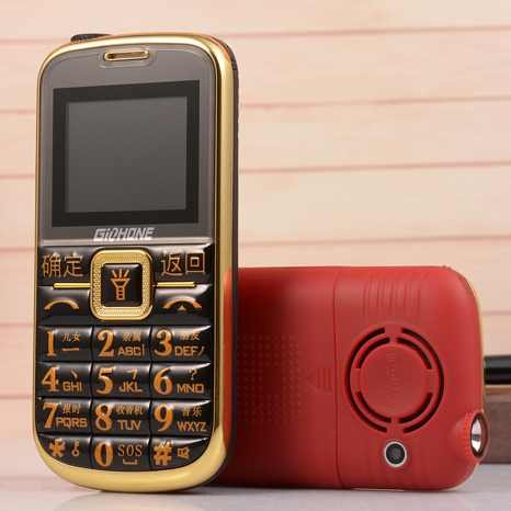 Unlocked FM SOS big key 2800mAh torch senior mobile phones cell for old people P031(China (Mainland))
