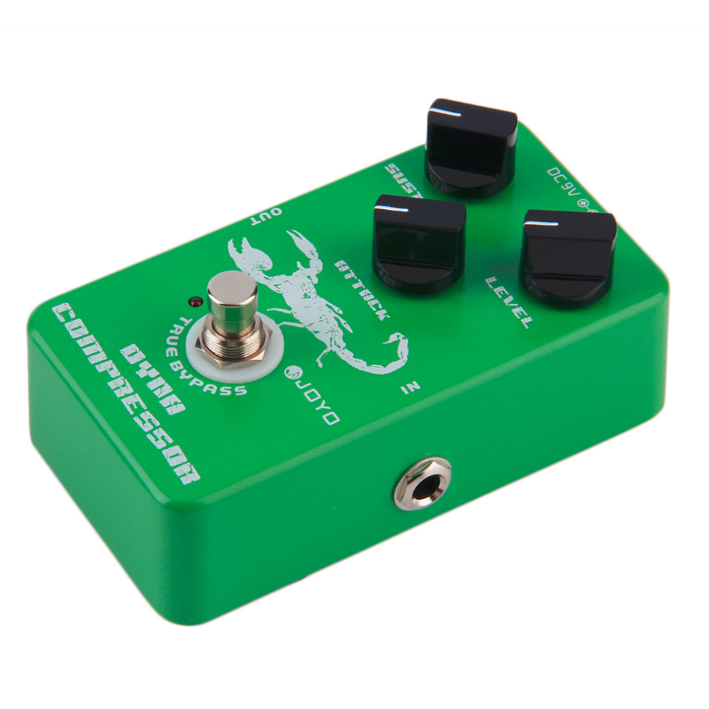 JF-10 Dynamic Compressor Guitar AMP Effect Pedal True Bypass Instrument free shipping