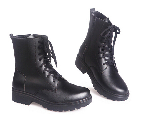 The new men's winter fashion warm electric shoes Genuine Leather fever Martin boots can go outdoors , ( 490 ) 6.5-9.5(China (Mainland))