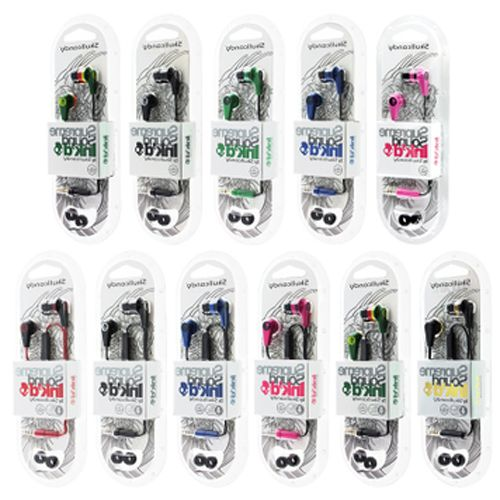 60Pcs/lot Original quality Skull Fashion Headset In-Ear Earphone With Remote Mic For iphone se 5 5S 6s 6 plus Candy 10 Colors(China (Mainland))