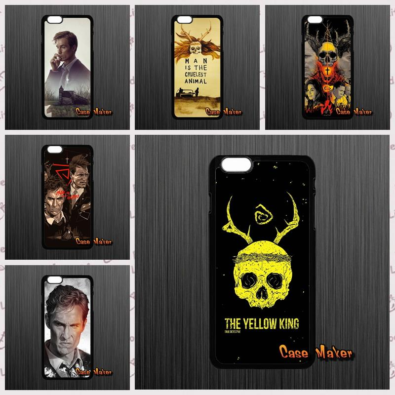 For iPhone 4 4S 5 5C 5S 6 6S Plus LG G2 G3 G4 HTC One M7 M8 iPod Touch 4 5 HBO Series True Detective Rust brand Phone Case cover(China (Mainland))