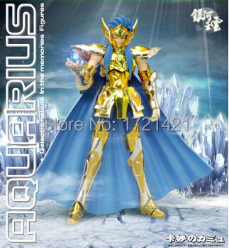 Free Shipping Myth Action Figure Galactic Nebula Model Saint Seiya Aquarius Camus Collection Model<br><br>Aliexpress