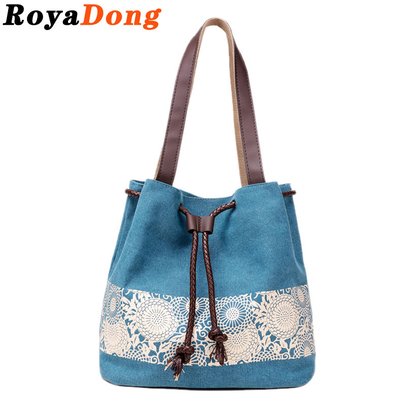 RoyaDong Women Bag 2016 Canvas Bucket Bags Luxury Women Designer Handbags Lace Handtassen Sac A Main Bolsa Feminina Dollar Price<br><br>Aliexpress
