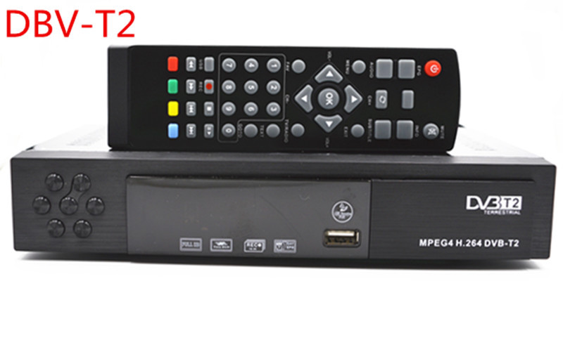 DVB-T2 HD PVR Digital TV Receiver SET TOP BOX STB with USB & HDMI Interface,DVB-T2 Tuner, Support MPEG4 / H.264(China (Mainland))