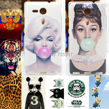 HOT! Cases FOR SONY Xperia SP Case Cover Colorful Fashion Painted Case FOR SONY Xperia SP M35h M35C C5303 Case Cover In Stock(China (Mainland))