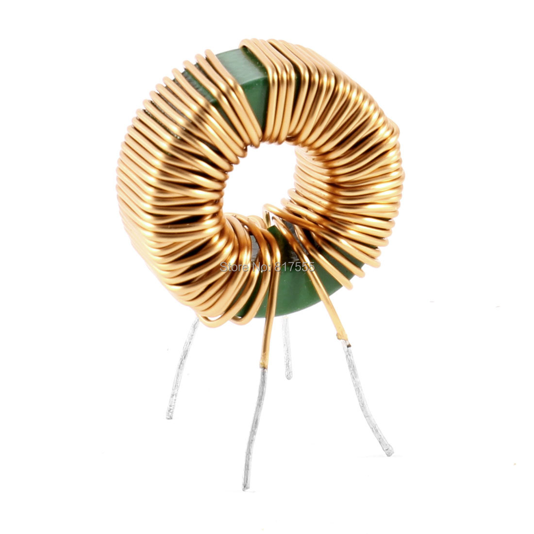 Toroid Core Common Mode Inductor Choke Wire Wind 10MH 40mOhm 4A Coil Discount 50(China (Mainland))