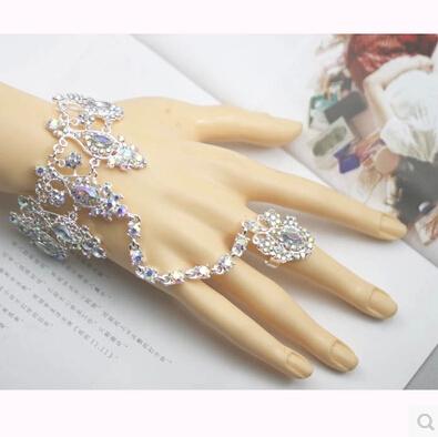 Ring bracelet wedding
