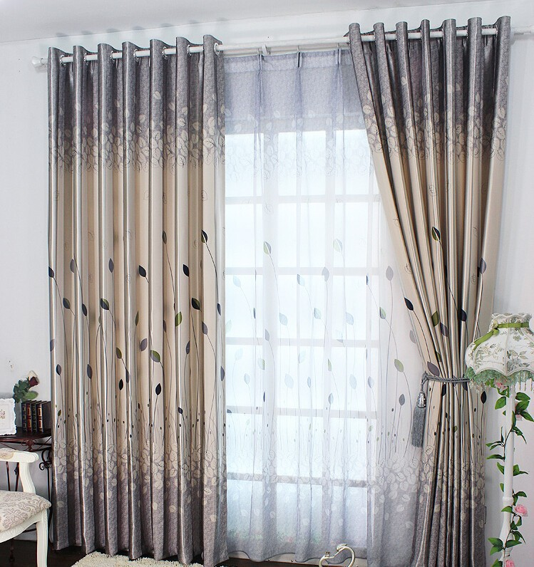 New Arrival Fashion Blinds Window Curtains For Living Room