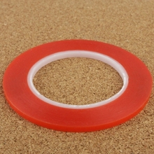 2mm 3M Double Sided Adhesive Sticker Tape for iPhone / Samsung / HTC Mobile Phone Touch Screen Repair Length 25m (Red)(China (Mainland))