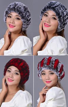 2015 Free Shipping Genuine Fur Hat Nature fur Cap Headgear Headdress Various Fashion hats women(China (Mainland))