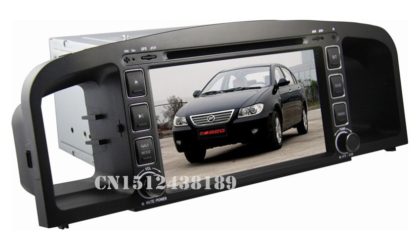 7 inch Lifan 620 Solano Car DVD GPS Navigation built in DVD player TV BT Radio 3G optional Russian menu language(China (Mainland))