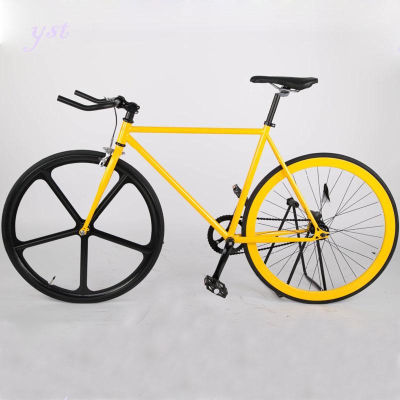 Road Bike Aluminum alloy 2 dics brake dirt bike fixed gear bikes DIY color freely vehicle Variable speed Reverse brake,RJ0084(China (Mainland))