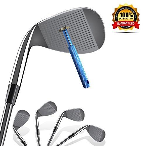 2016 Hot Sale 6 Blade Cutters Head Golf Club Sharpener Groove Wedge Cleaner Regrooving Tool(China (Mainland))
