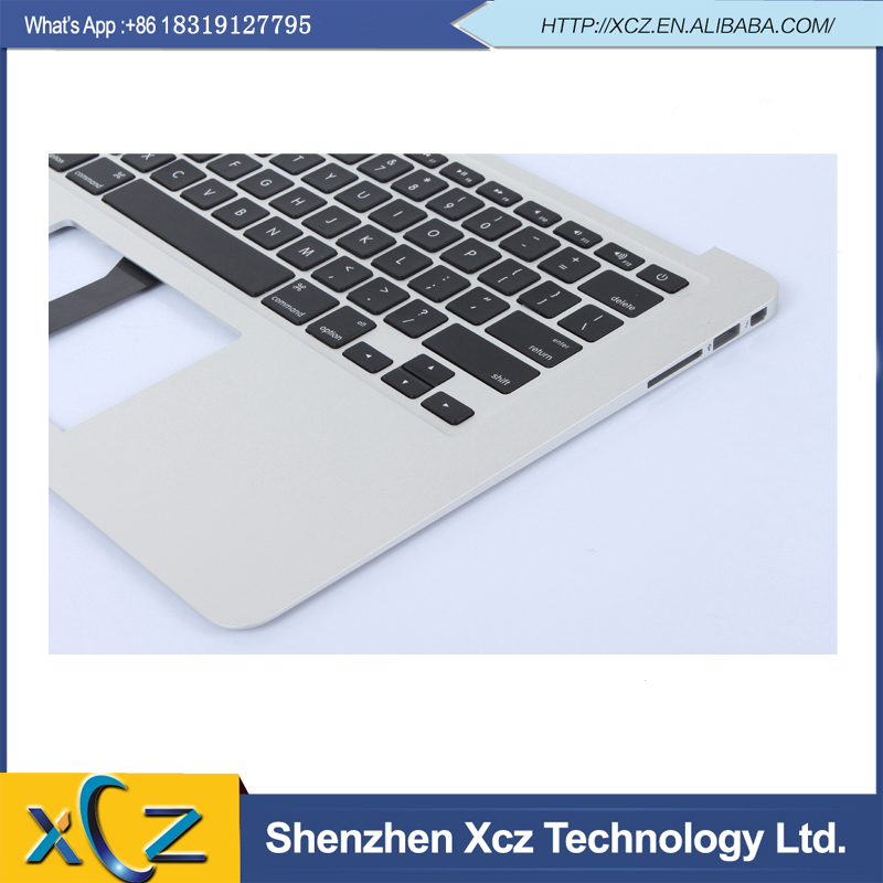 "Original New Top Case Palm Rest with US Keyboard for MacBook Air 13"" A1466 topcase with US keyboard 2013(China (Mainland))"