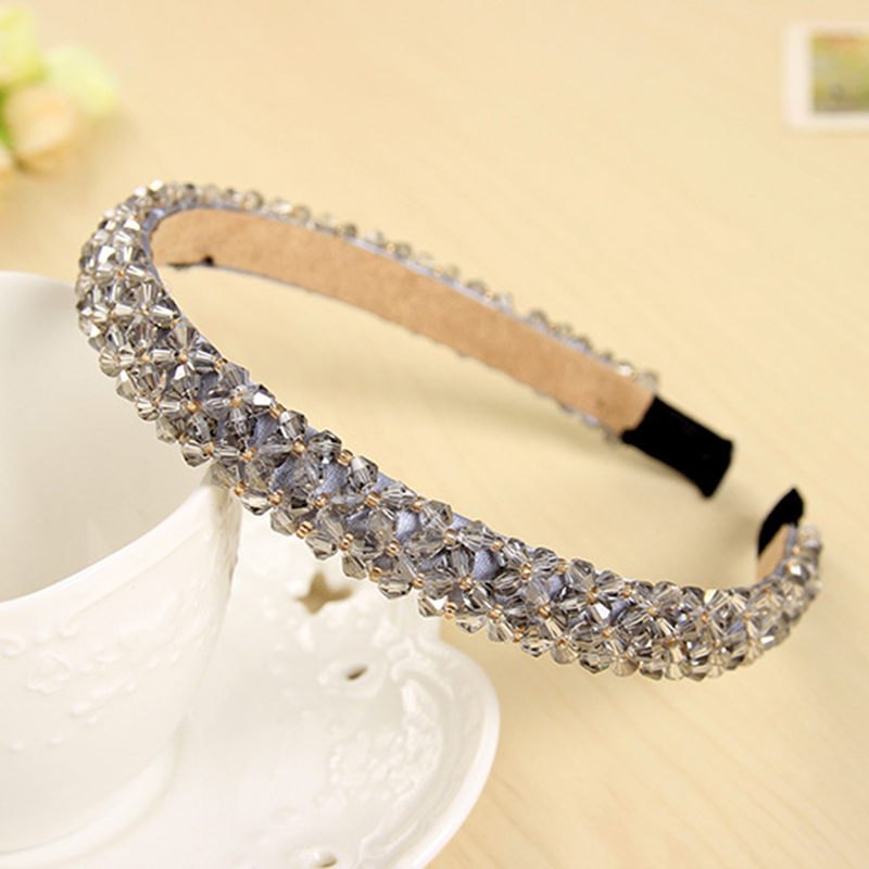 Shining Crystal Fashional Modern Style Headband Hairbands for Girls Headwear Hair Accessories for Women(China (Mainland))