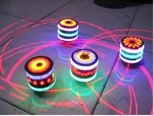 Light-up fancy toy spinning top spinning top luminous spinning top laser line spinning top colorful music spinning top