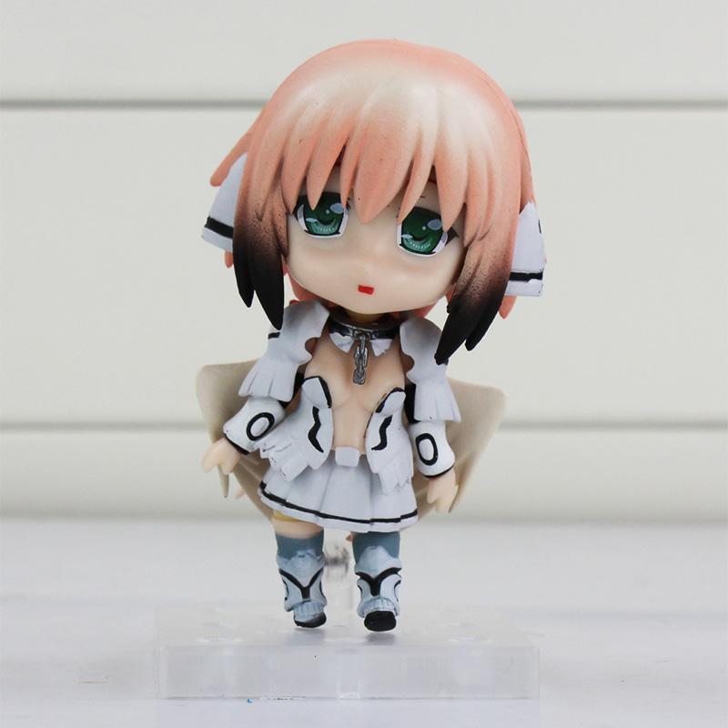 New arrival 3PCS/Lot 10cm Anime Sora No Otoshimono Icarus Q Version PVC Action Figure Collection Model Toys Dolls  Free Shipping<br><br>Aliexpress