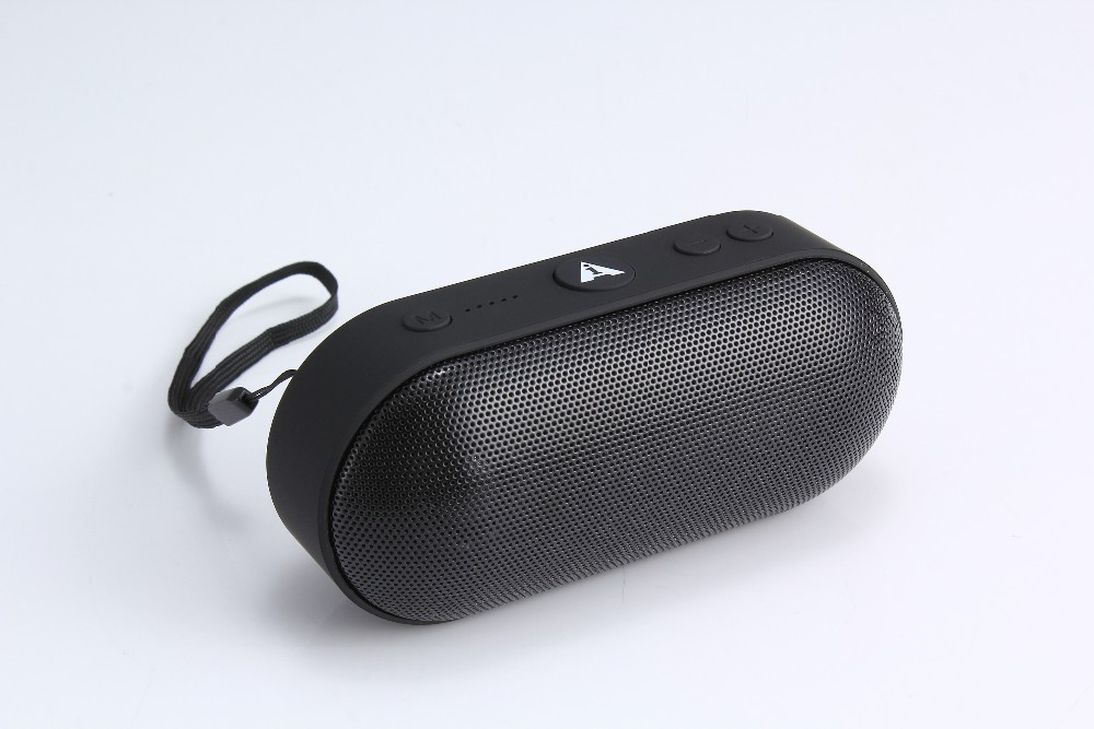 Promotion Mini pill speaker Portable Wireless Bluetooth Speaker support FM radio and hands free calling and computer speaker