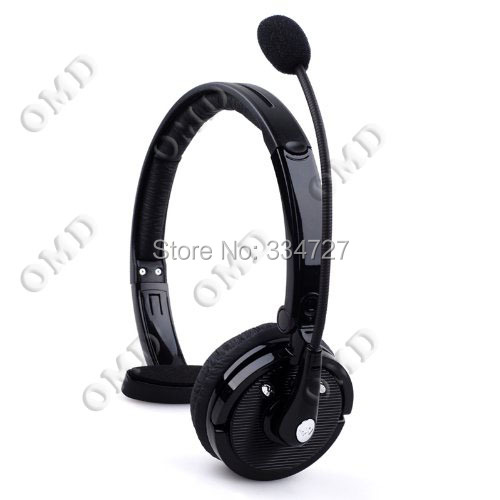 stylish bluetooth v2 1 headphones with microphone headset boom mic bluetooth noise canceling. Black Bedroom Furniture Sets. Home Design Ideas