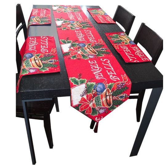 New year christmas table runner christmas tablecloth decoration home textiles(China (Mainland))