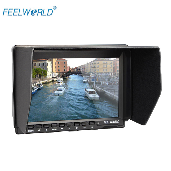 FEELWORLD FW-759 7 Slim HD Video Monitor IPS 1280x800 HDMI 1080p with Sunshade FW759 for Canon 5D mark III for Sony A7s A7R<br><br>Aliexpress
