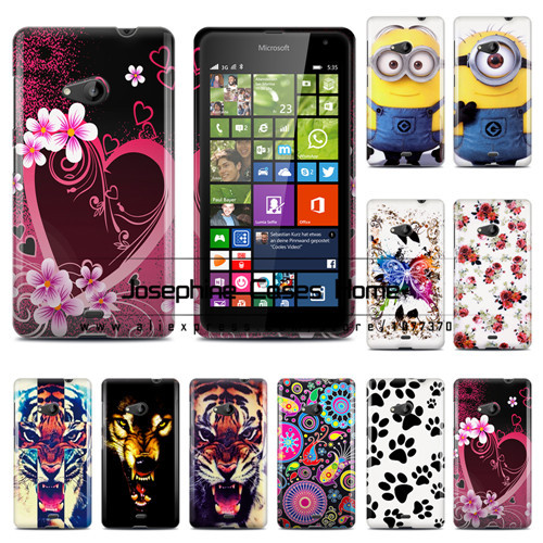 3pcs/lot(case+screen protector+stylus)Stock printed case for Nokia Lumia 535 TPU case for Nokia lumia535 with free shipping(China (Mainland))