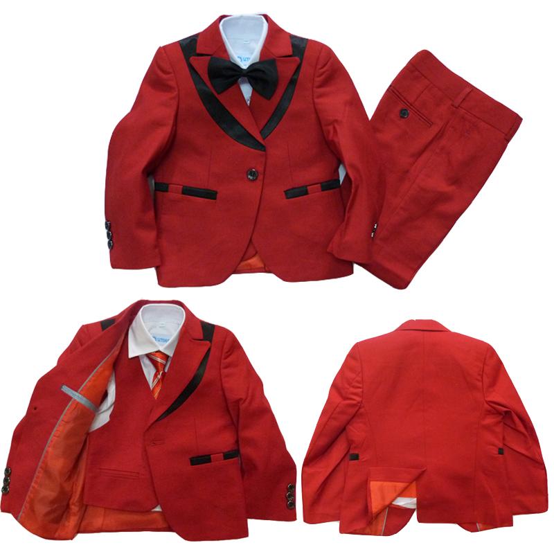 Kids Red Blazer Hardon Clothes