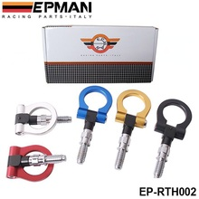 EPMAN Racing Billet Aluminum Tow Hook Front Rear For BMW European Car Trailer(Bule/Red/golden/Black/silver) EP-RTH002(China (Mainland))