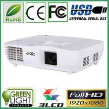 New High Lumens Portable Projector HDMI Full HD 1080p Video lcd Projector