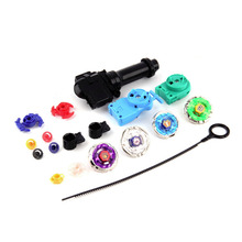 1Set New Top Metal Master Rapidity Fight Rare Beyblade 4D Launcher Grip Set Hot Worldwide(China (Mainland))
