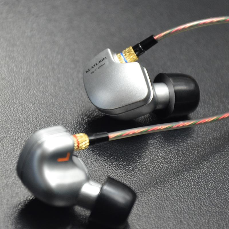2015 New Arrival Original KZ ATE 3.5mm in ear Earphones HIFI Metal Stereo Earphones Super Bass noise isolating(China (Mainland))